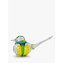 Buy Svaja Basil Bird Ornament, Yellow Online at johnlewis.com