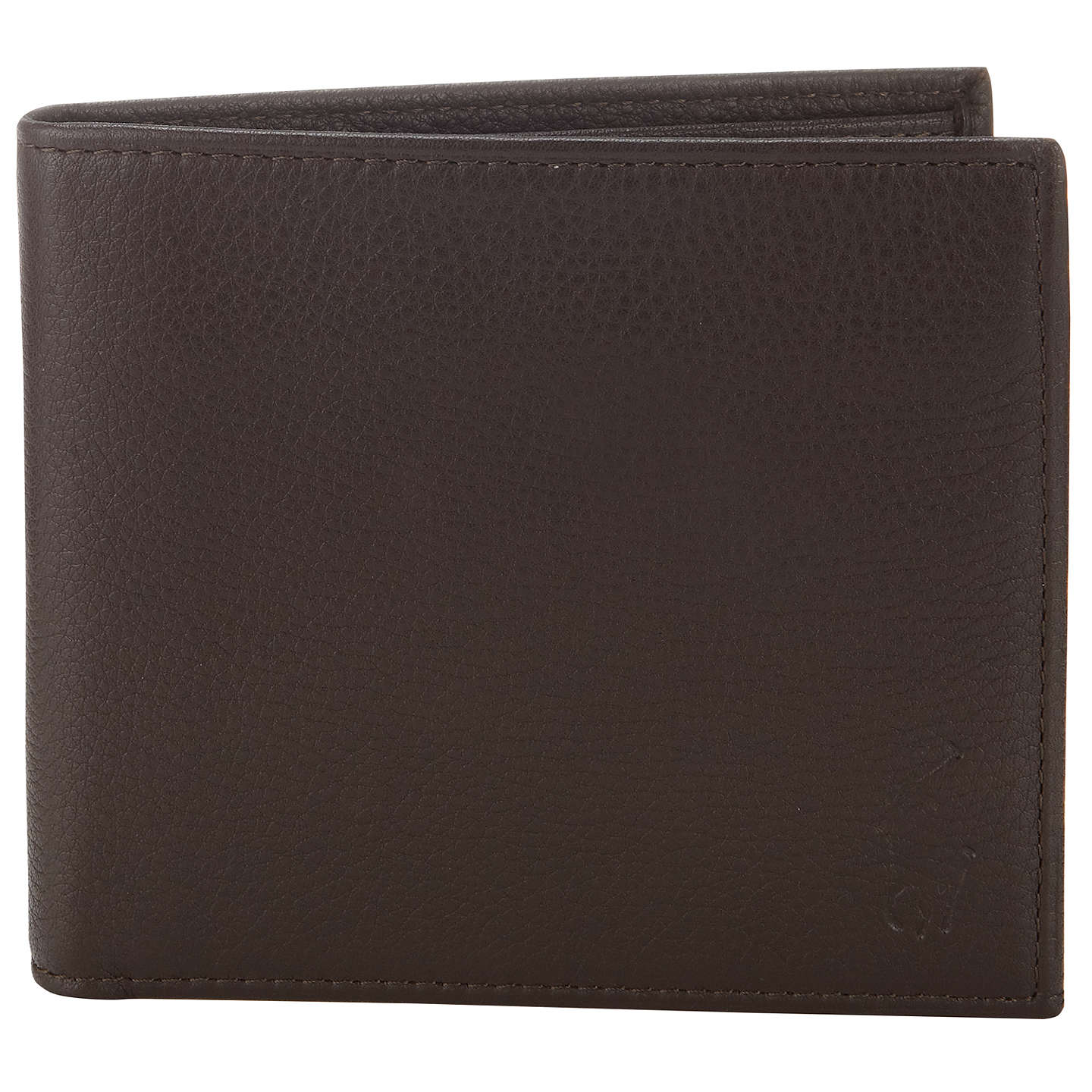 BuyPolo Ralph Lauren Pebble Grain Leather Wallet, Brown Online at  johnlewis.com ...