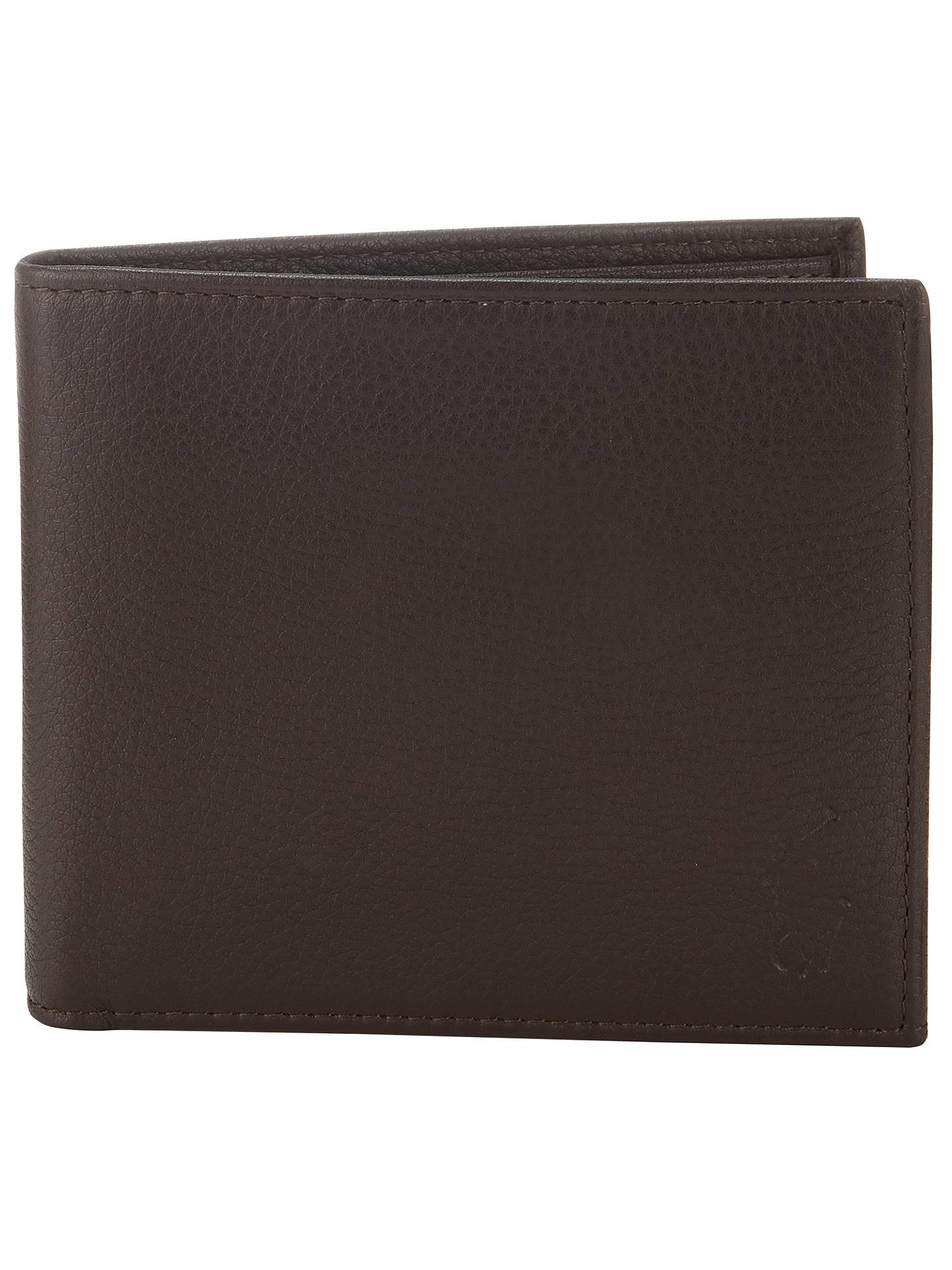 7b810f2acb4 Buy Polo Ralph Lauren Pebble Grain Leather Wallet, Brown Online at  johnlewis.com ...
