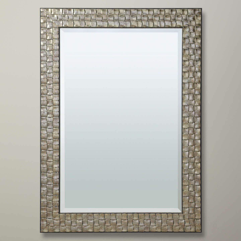 John lewis mosaic mirror champagne at john lewis for Miroir 90 x 130