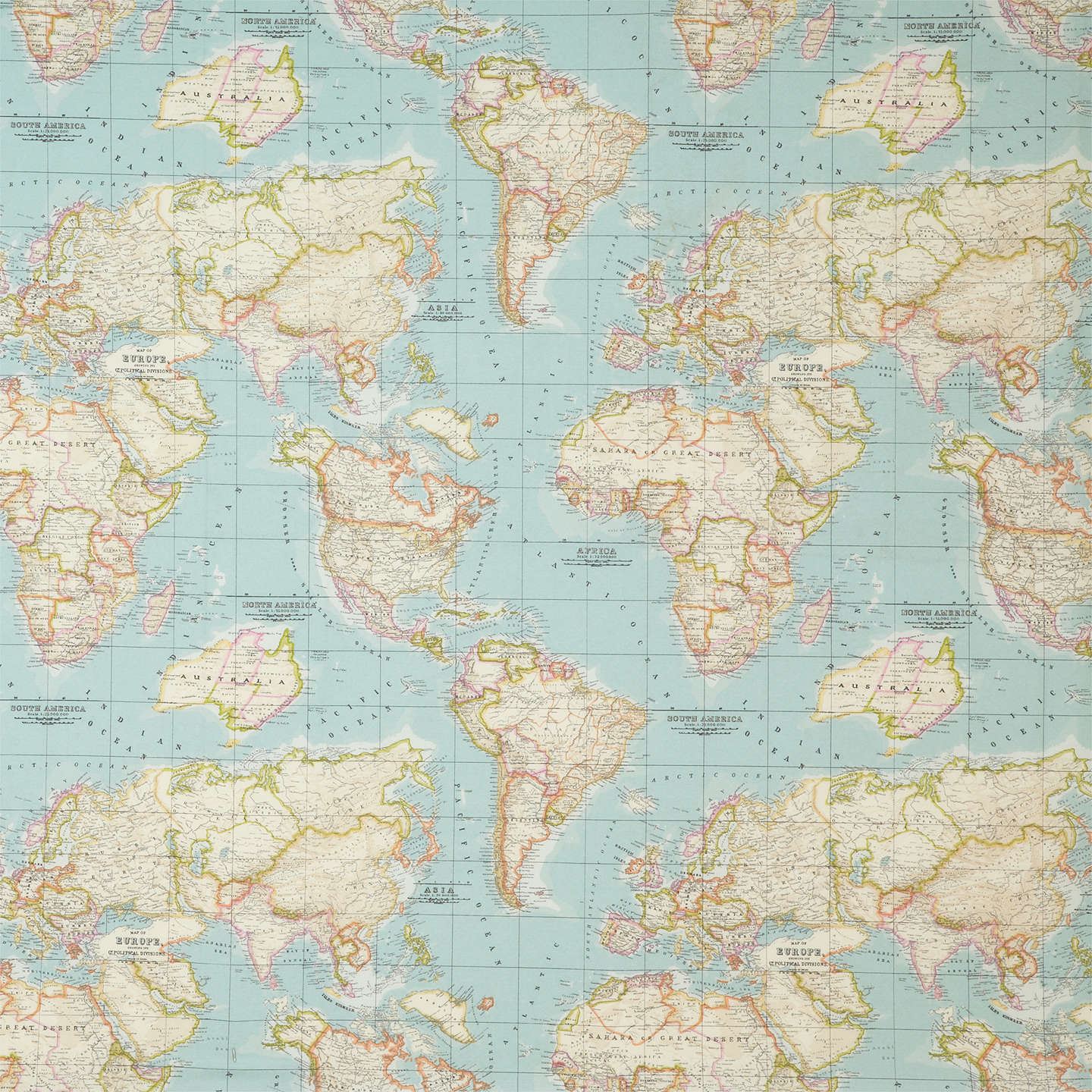 John lewis world map furnishing fabric blue at john lewis buyjohn lewis world map furnishing fabric blue online at johnlewis gumiabroncs Image collections