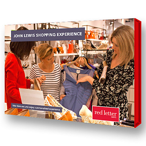 Buy Red Letter Days John Lewis Shopping Experience Online at johnlewis.com
