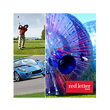 Buy Red Letter Days Perfect For Him Online at johnlewis.com
