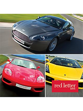 Red Letter Days Supercar Driving