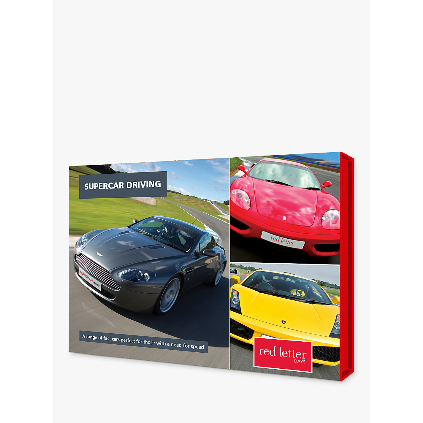 Buy Red Letter Days Supercar Driving