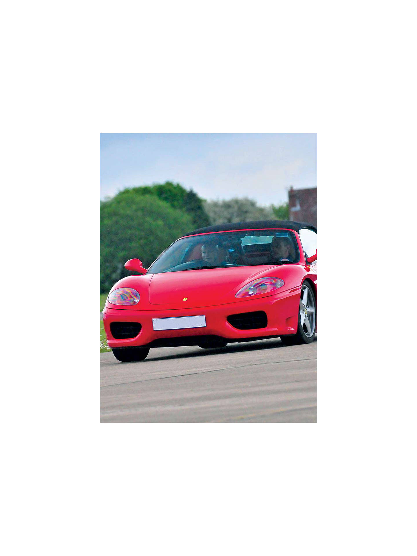 BuyRed Letter Days Supercar Driving Online at johnlewis.com