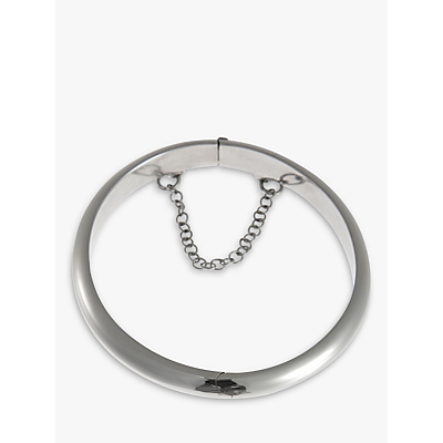 Nina B Sterling Silver Hinged Baby Bangle