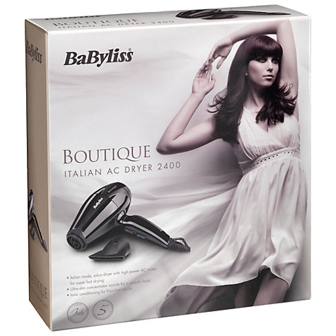 Buy BaByliss 5616U Boutique Hair Dryer Online at johnlewis.com