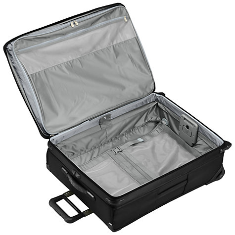 Buy Briggs & Riley 2-Wheel Large Expandable Upright Suitcase, Black Online at johnlewis.com