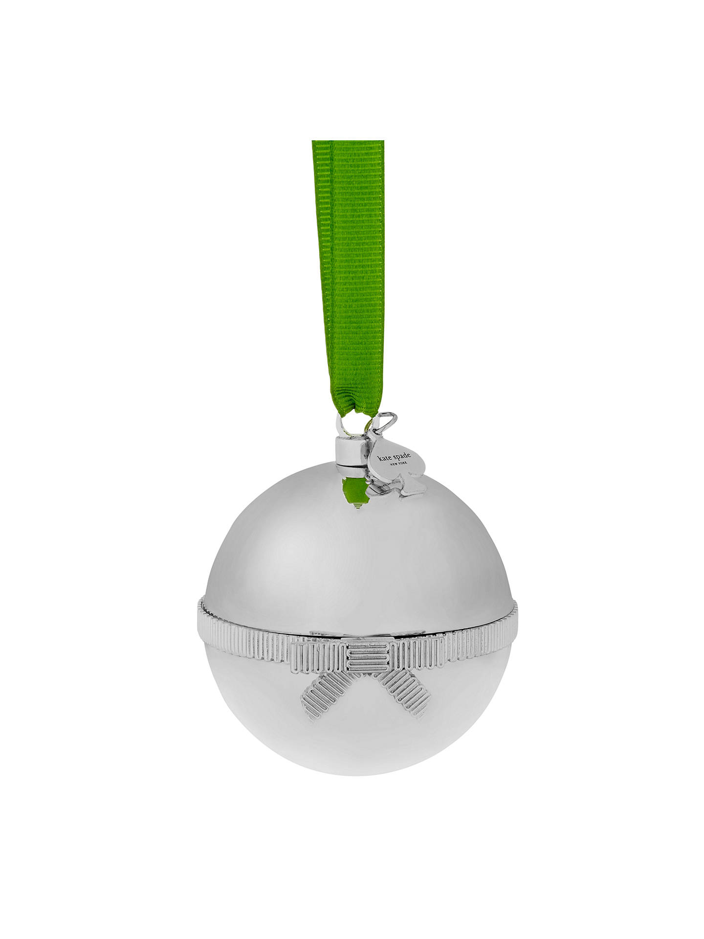 kate spade new york Grace Avenue No Peeking Ornament at John Lewis ...