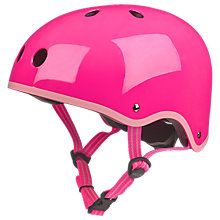 Buy Micro Scooter Safety Helmet, Neon Pink, Medium Online at johnlewis.com