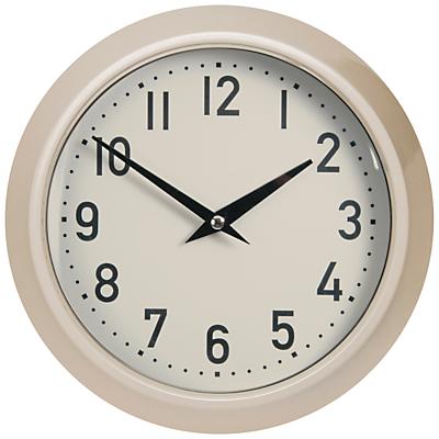 Garden Trading Large Outdoor Clock, Clay