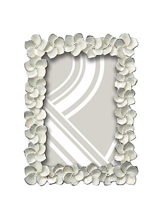 John Lewis & Partners Petal Photo Frame, Ivory