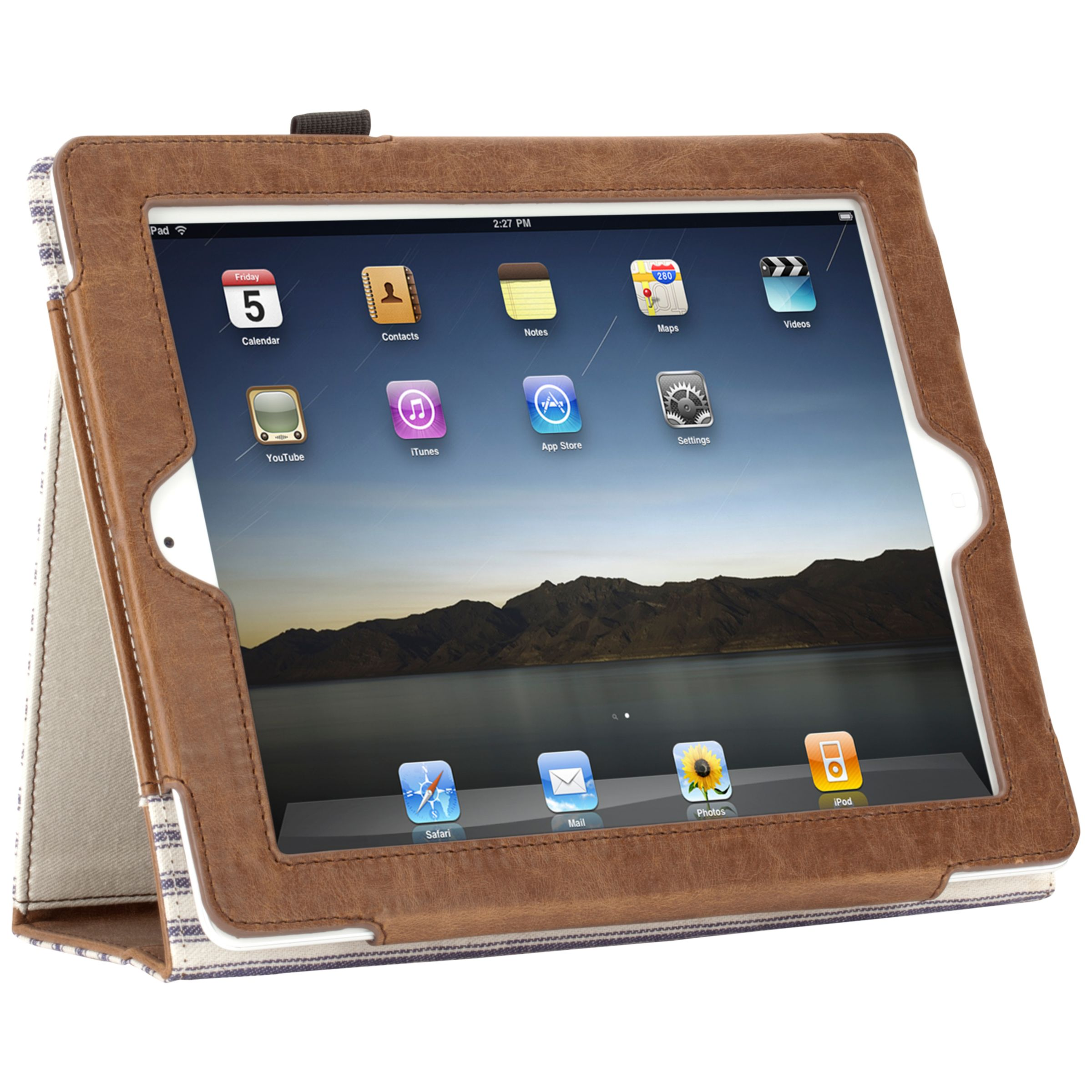 Griffin Elan Folio Case for 3rd generation iPad, Sand