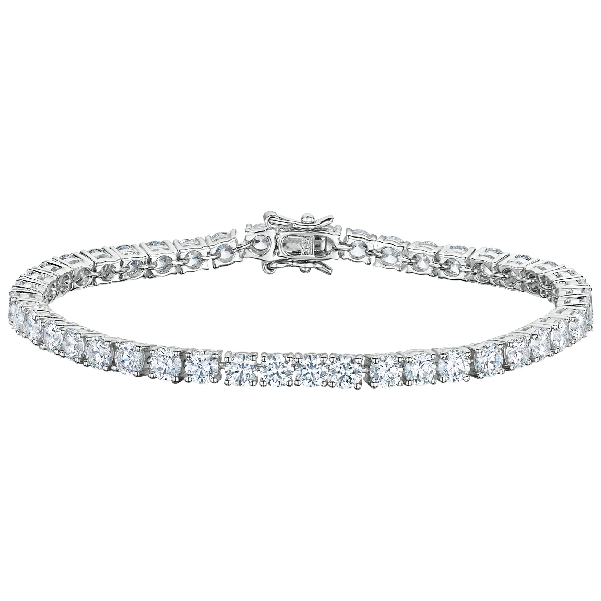 Jools By Jenny Brown Round Tennis Bracelet At John Lewis Partners