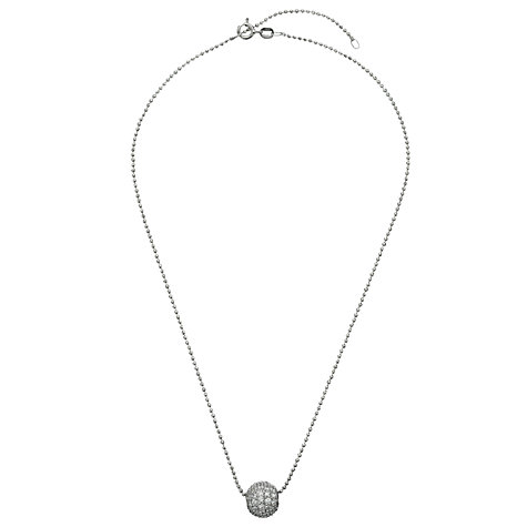 Buy Jools by Jenny Brown Disco Ball Pendant Necklace, Silver Online at johnlewis.com