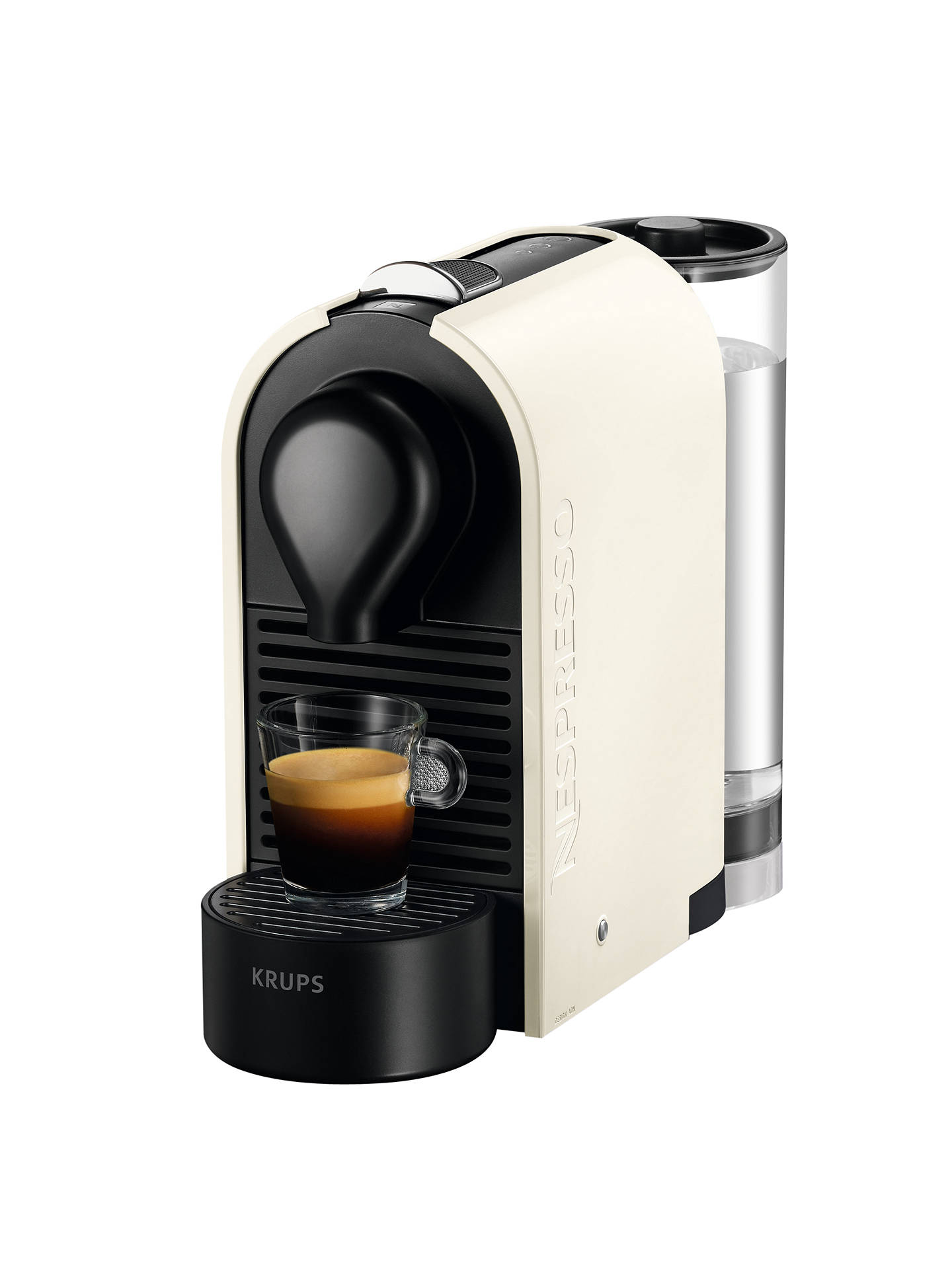 nespresso u coffee machine by krups at john lewis partners. Black Bedroom Furniture Sets. Home Design Ideas