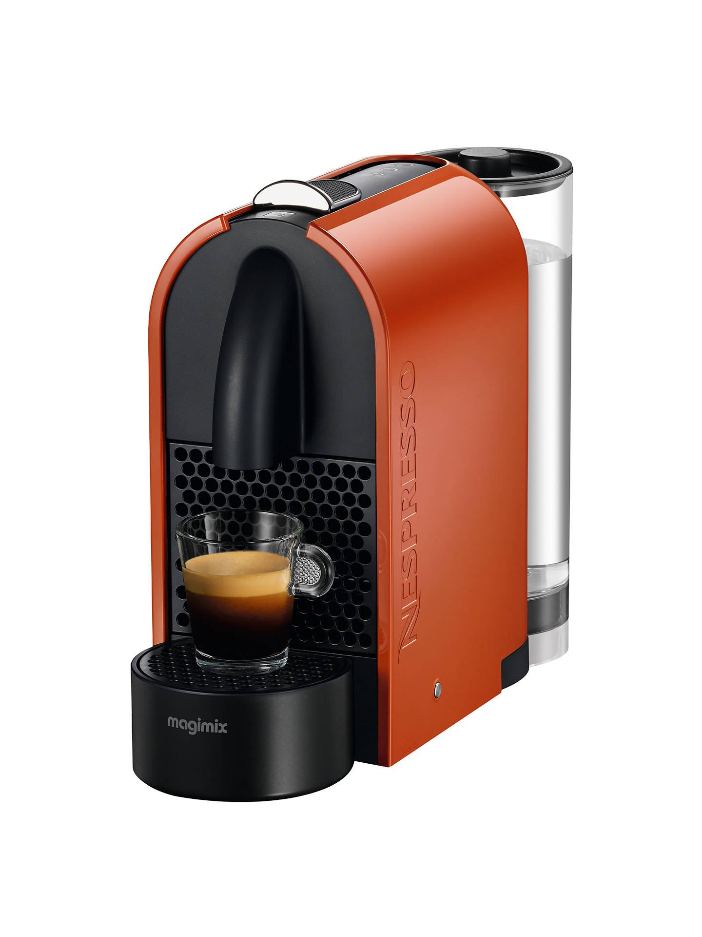 Nespresso U Coffee Machine Magimix Nespresso Machine