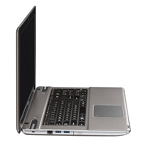 "Buy Toshiba Satellite P875-31P Laptop, Intel Core i7, 16GB RAM, 1TB+ 8GB SSD, 17.3"", Silver Online at johnlewis.com"