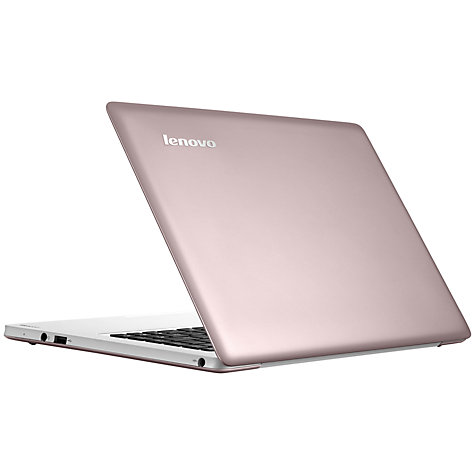 "Buy Lenovo Ideapad U310 Ultrabook Laptop, Intel Core i3, 1.8GHz, 4GB RAM, 500GB+24GB SSD, 13.3"", Cherry Online at johnlewis.com"