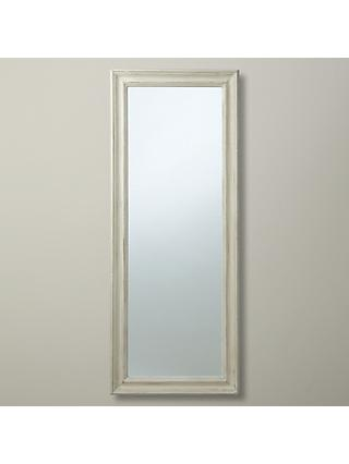 156596a66b6b John Lewis & Partners Distressed Full Length Mirror, 132 x 52cm, Cream