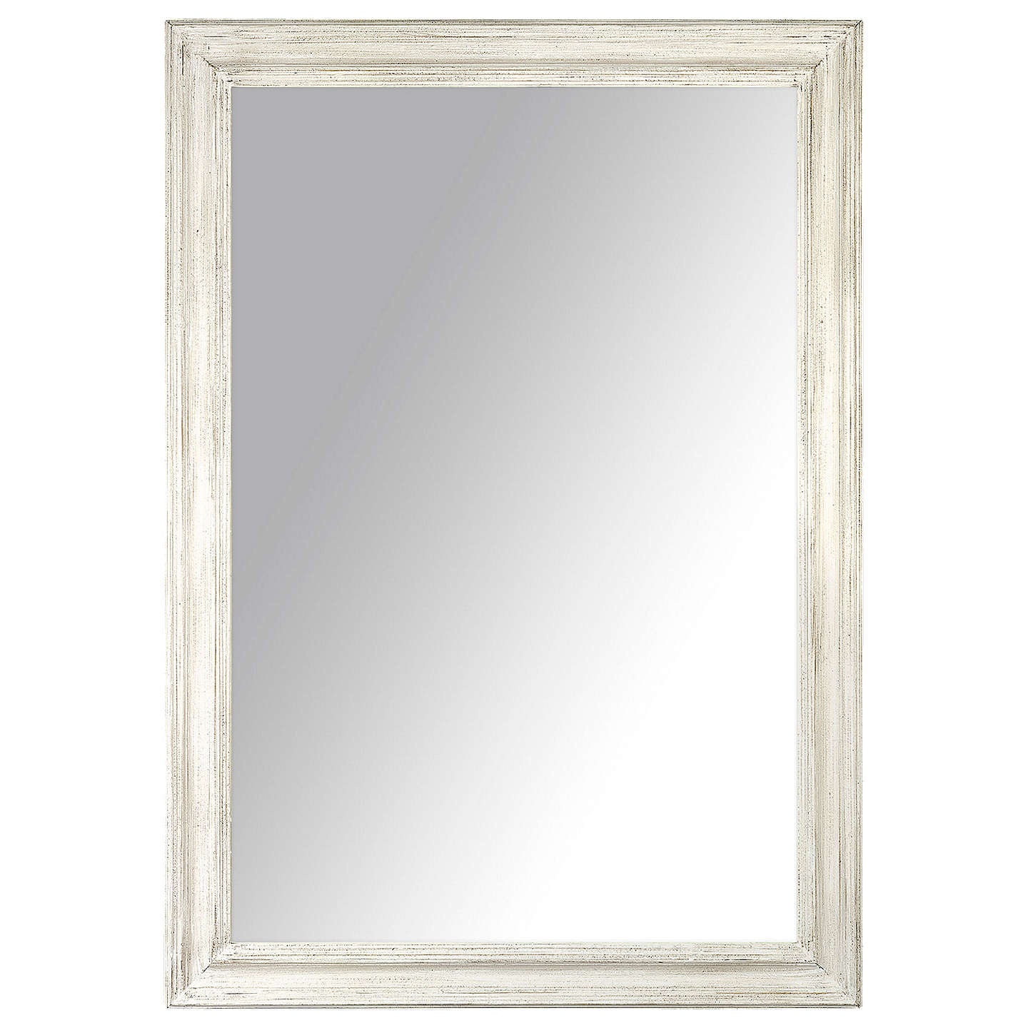 john lewis distressed mirror cream 102 x 72cm at john lewis. Black Bedroom Furniture Sets. Home Design Ideas