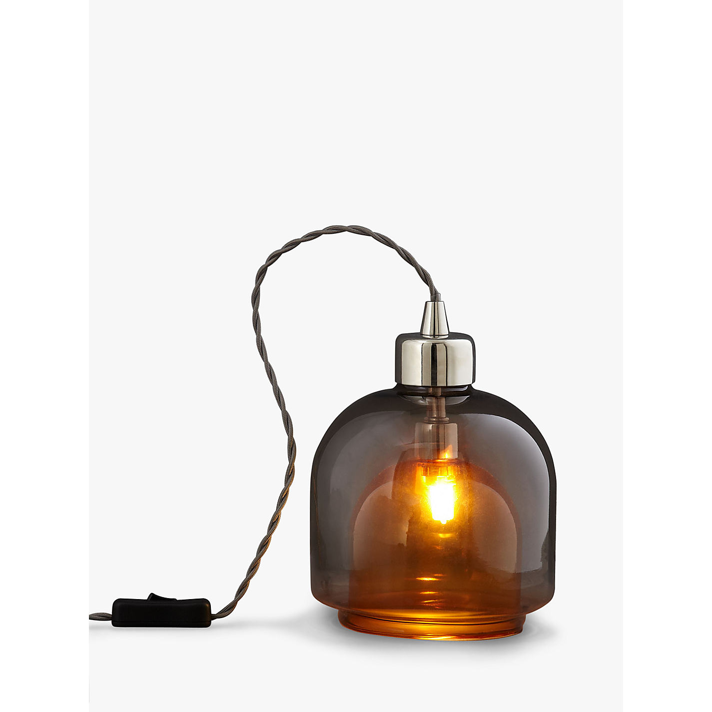 Buy john lewis ambience two layer glass table lamp john lewis buy john lewis ambience two layer glass table lamp online at johnlewis geotapseo Image collections