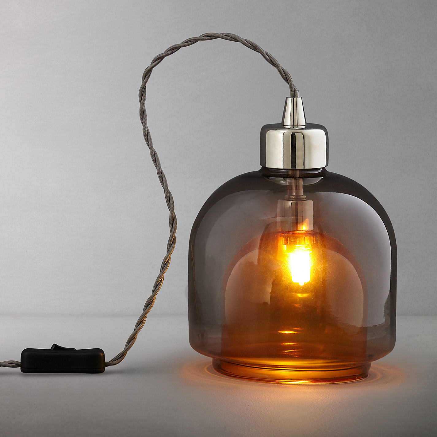 Attractive Buy John Lewis Ambience Two Layer Glass Table Lamp Online At Johnlewis.com  ...