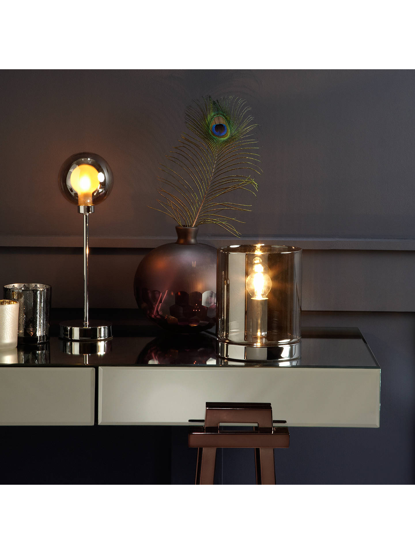 BuyJohn Lewis & Partners Jake Touch Lamp Online at johnlewis.com