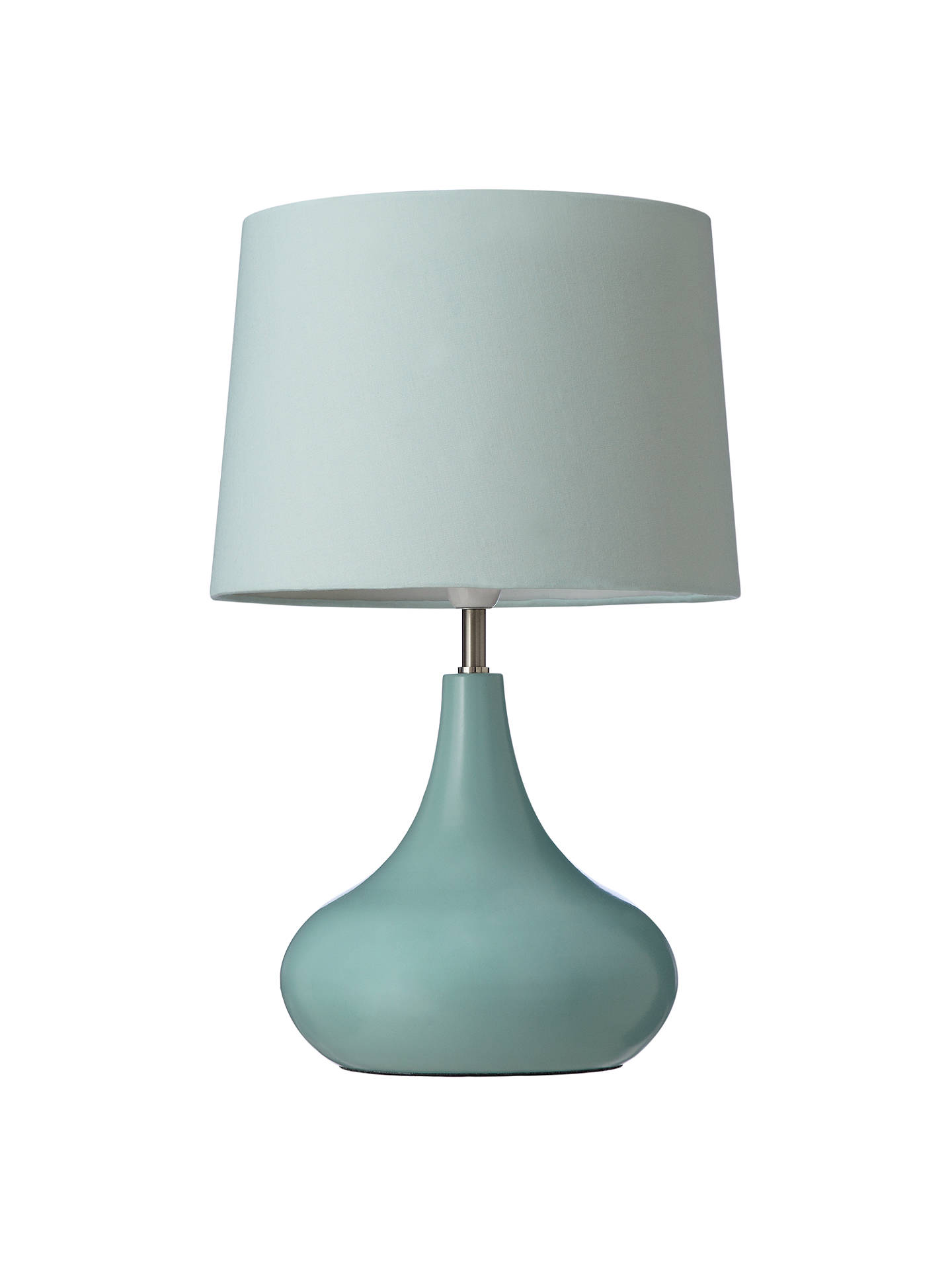 Buy John Lewis & Partners Laura Touch Lamp, Fir Green Online at johnlewis.com