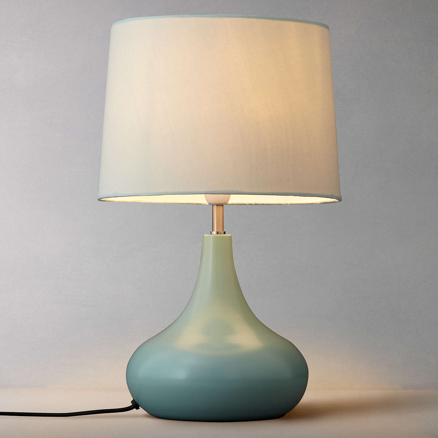 john lewis laura touch lamp fir green at john lewis. Black Bedroom Furniture Sets. Home Design Ideas