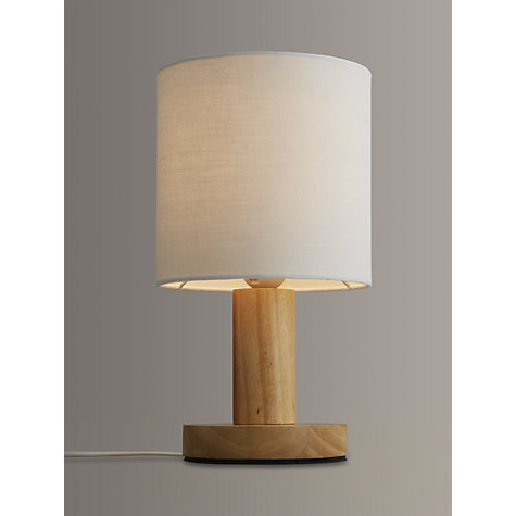 Buy John Lewis Slater Wood Touch Table Lamp John Lewis