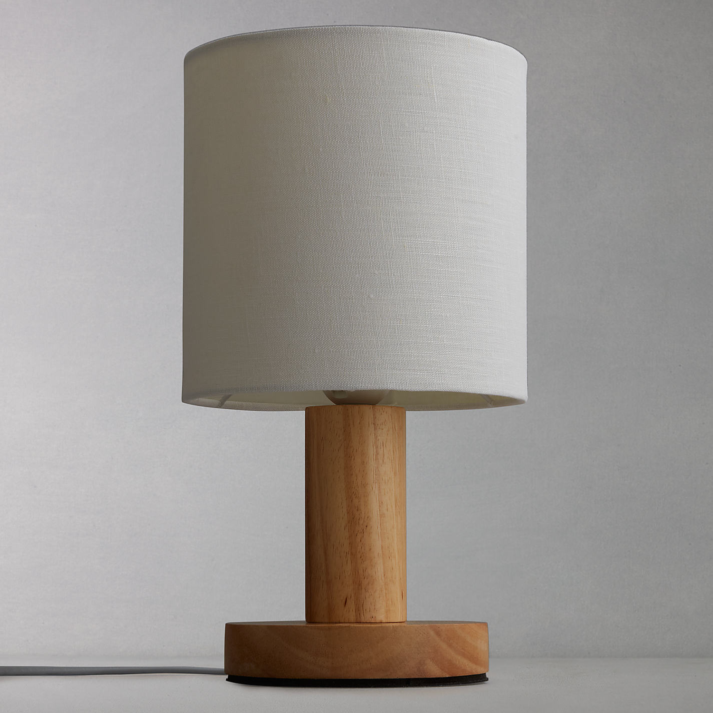 Buy john lewis slater wood touch table lamp john lewis buy john lewis slater wood touch table lamp online at johnlewis geotapseo Image collections