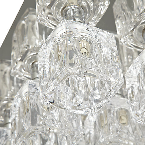 Buy John Lewis Cuboid 9 Light, Chrome Online at johnlewis.com