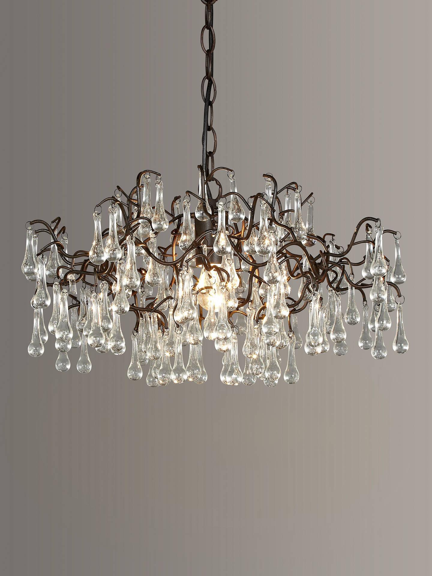 John Lewis Partners Victoria Chandelier Ceiling Light