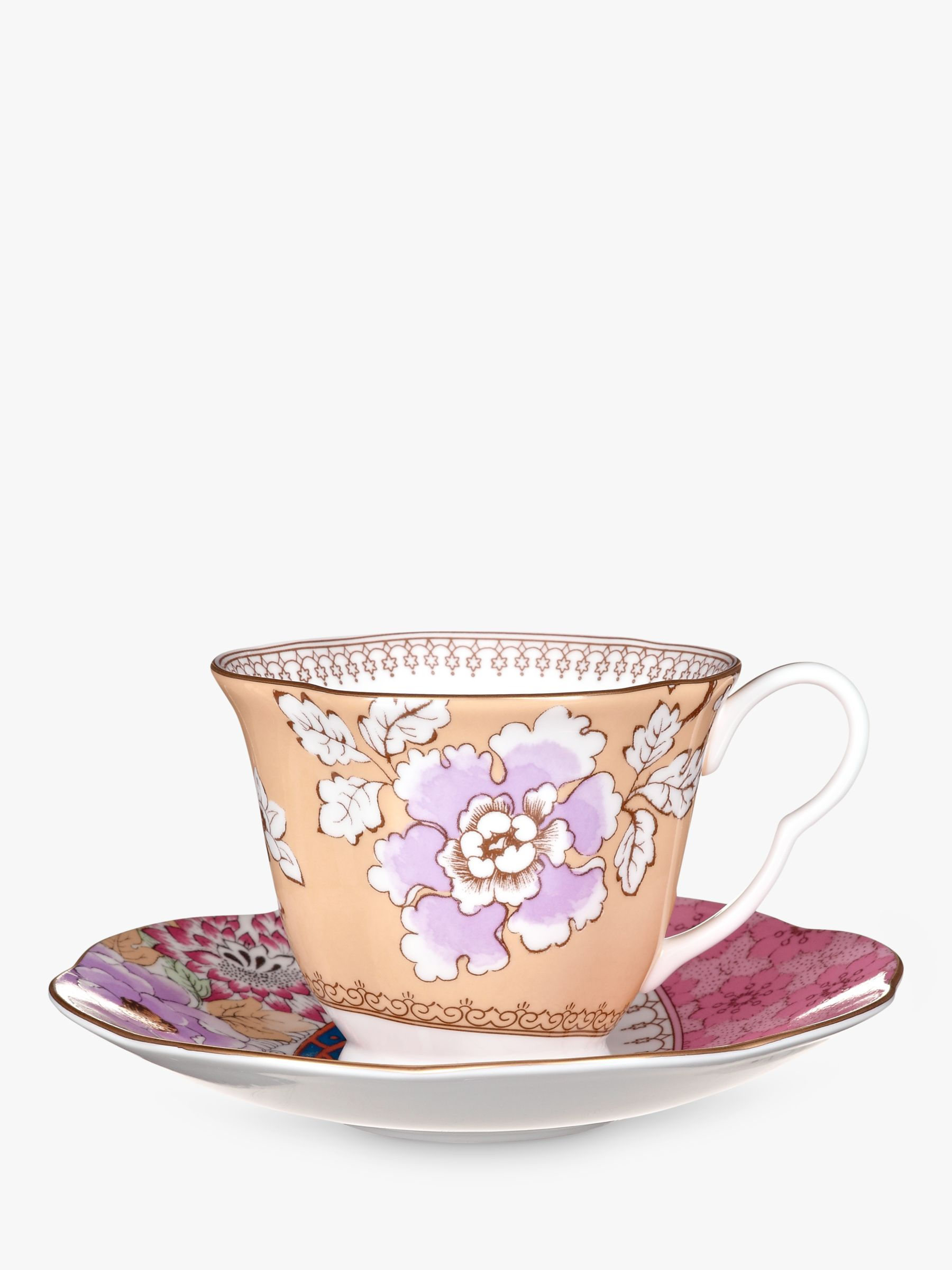Wedgwood Wedgwood Butterfly Bloom Cup and Saucer Set, Yellow