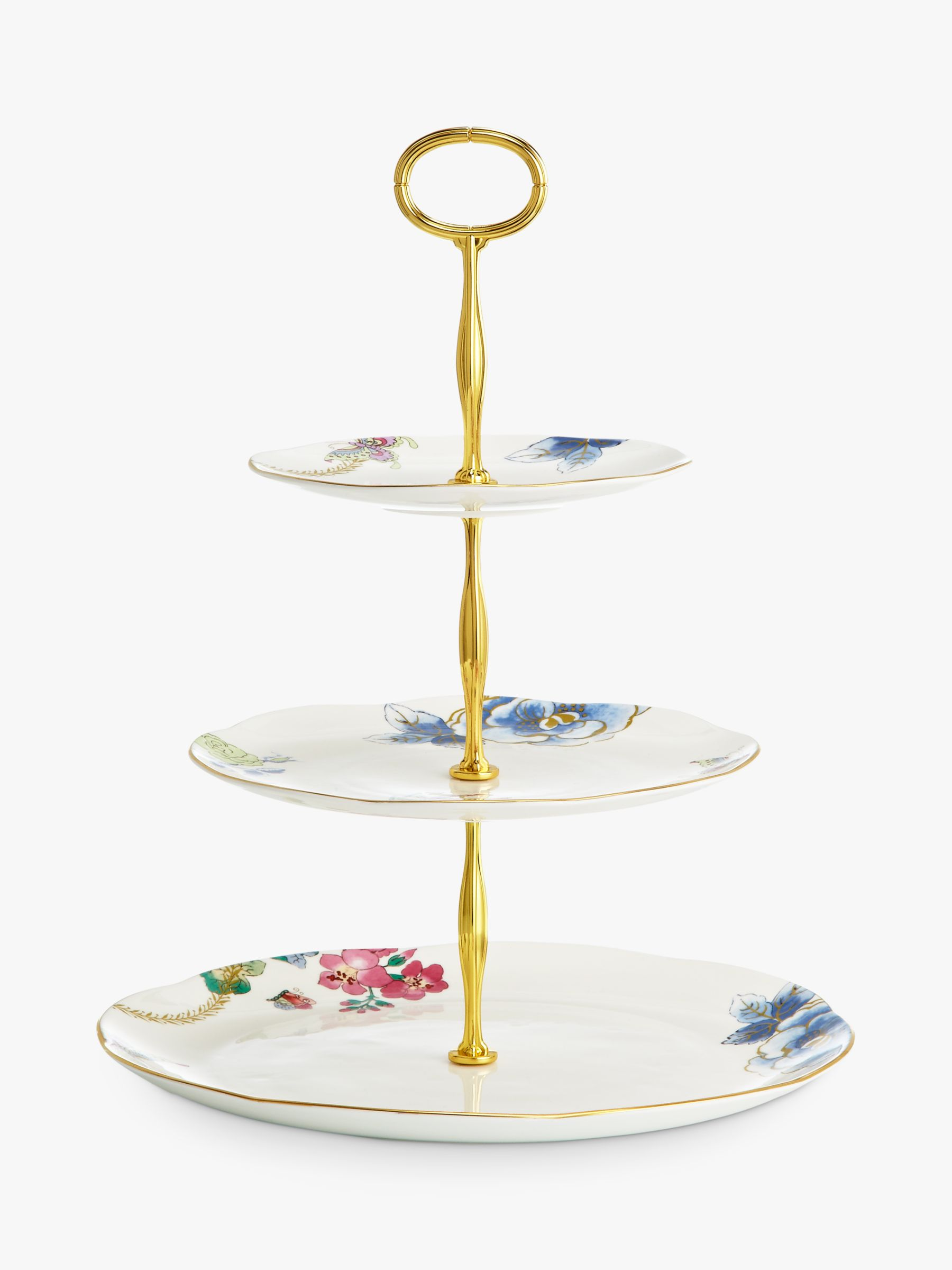Wedgwood Wedgwood Butterfly Bloom 3-Tier Cake Stand