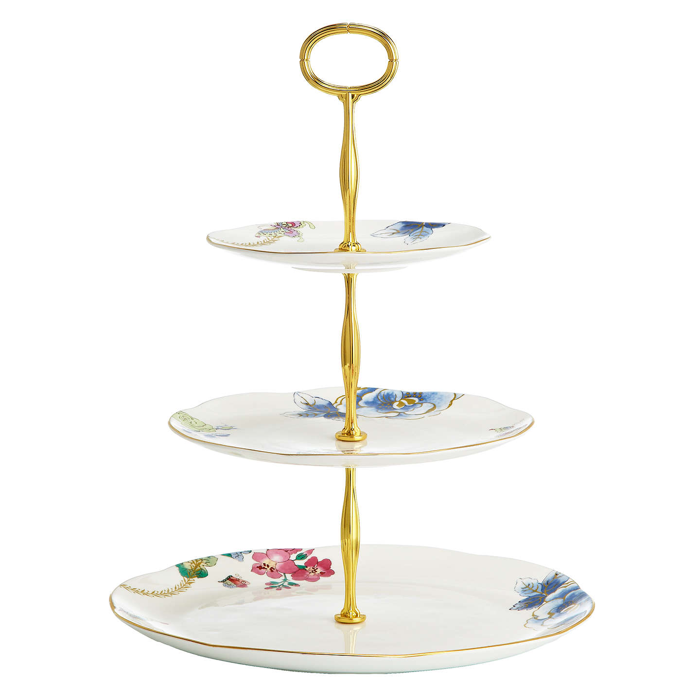 Wedgwood Butterfly Bloom  Tier Cake Stand