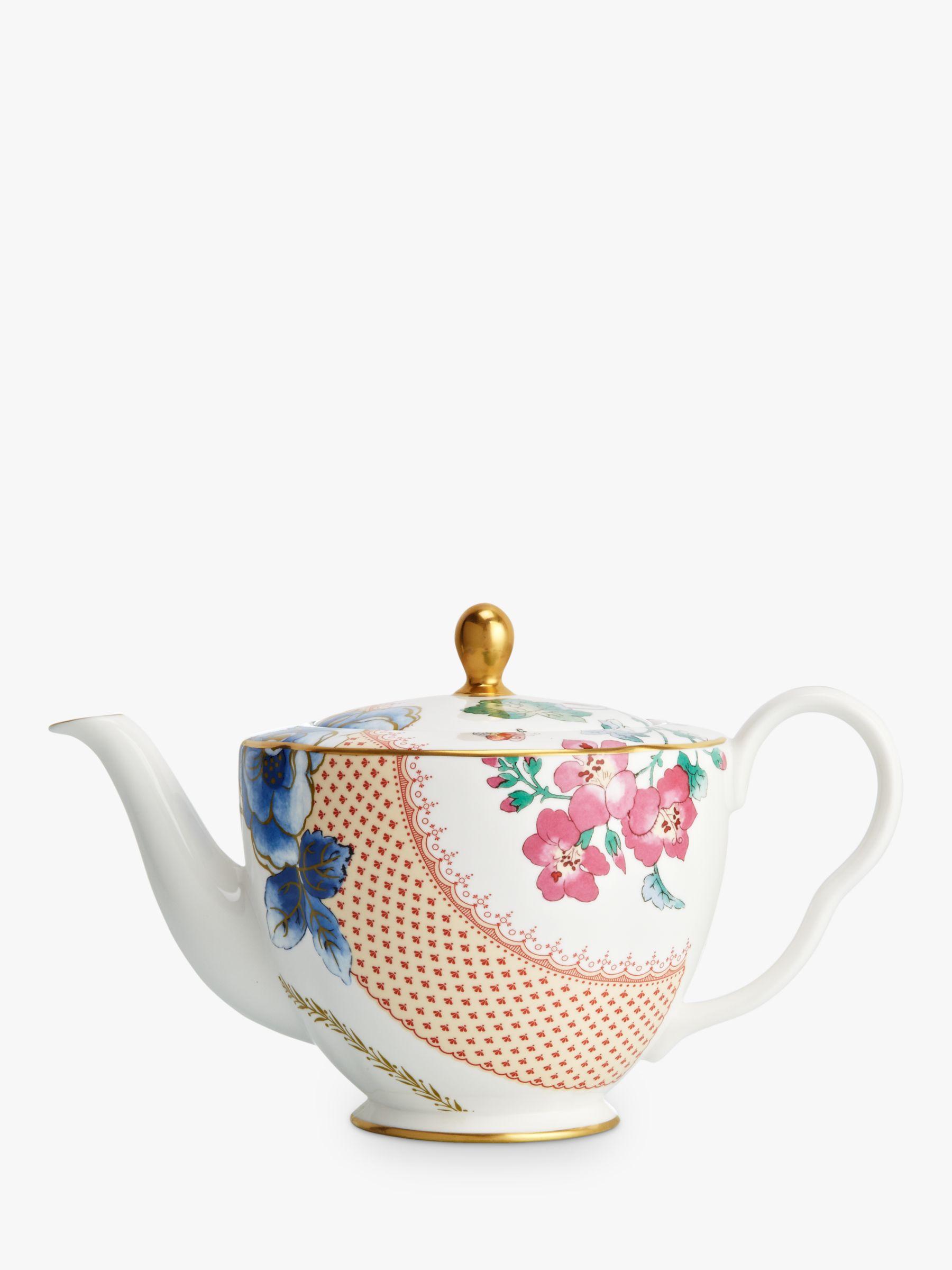 Wedgwood Butterfly Bloom Teapot, Multi, 1L