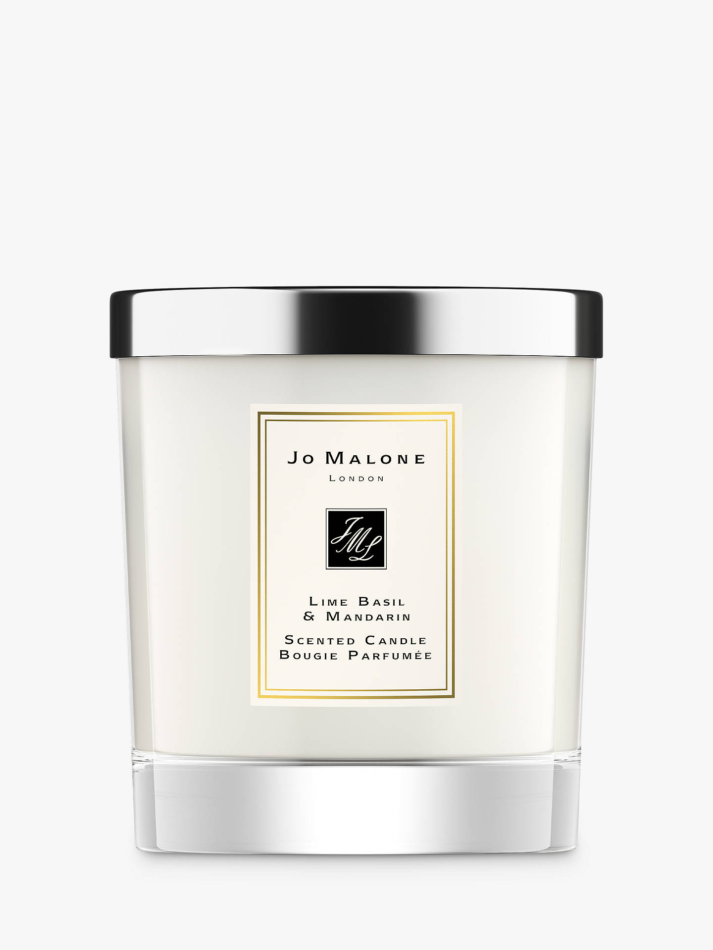 Buy Jo Malone London Lime Basil & Mandarin Home Scented Candle, 200g Online at johnlewis.com