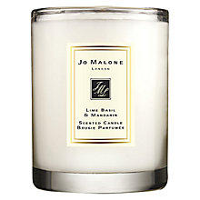 Buy Jo Malone London Lime Basil & Mandarin Travel Candle, 60g Online at johnlewis.com