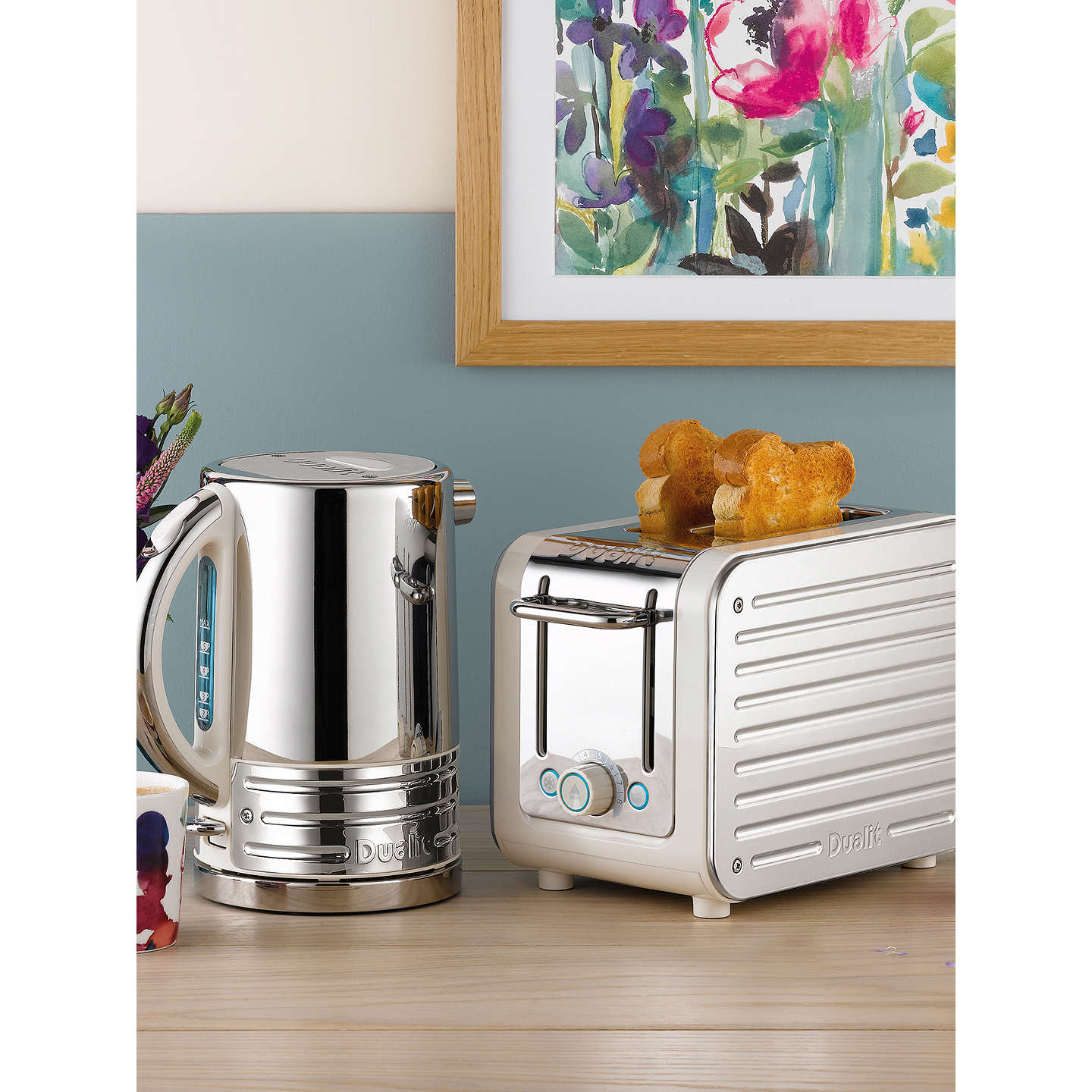 BuyDualit 26523 Architect 2-Slice Toaster, Canvas White Online at johnlewis.com