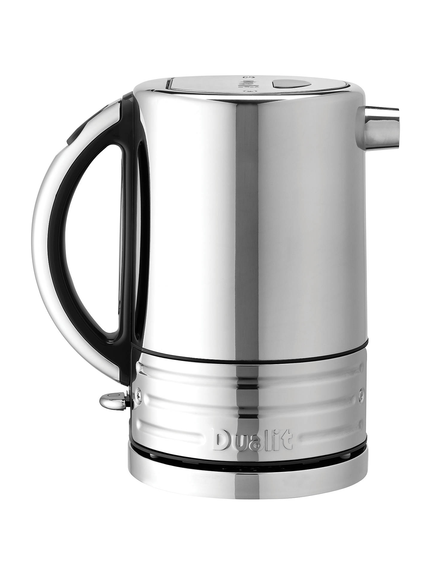 d91a2d29143d Buy Dualit 72925 Architect Kettle, Polished Steel/Black Online at  johnlewis.com ...