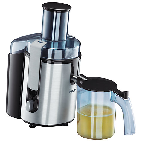 Buy Philips HR1861 Aluminium Collection Juice Extractor, Silver Online at johnlewis.com