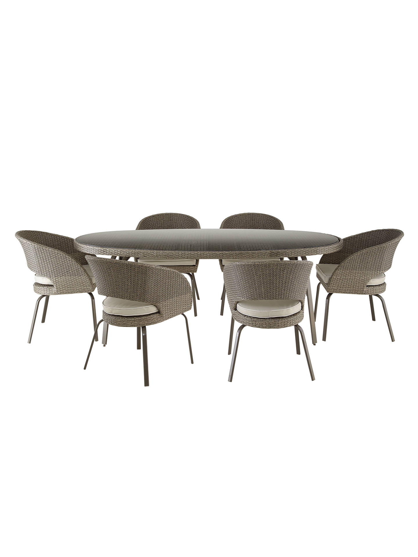 BuyJohn Lewis & Partners Corsica 6 Seater Round Garden Dining Table Online at johnlewis.com