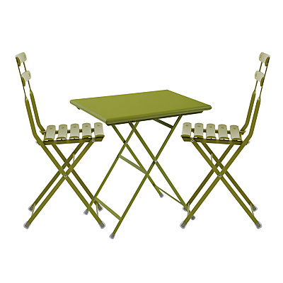 EMU Arc En Ciel Steel Bistro Set