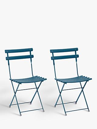 EMU Arc En Ciel Garden Chairs, Set of 2, Blue