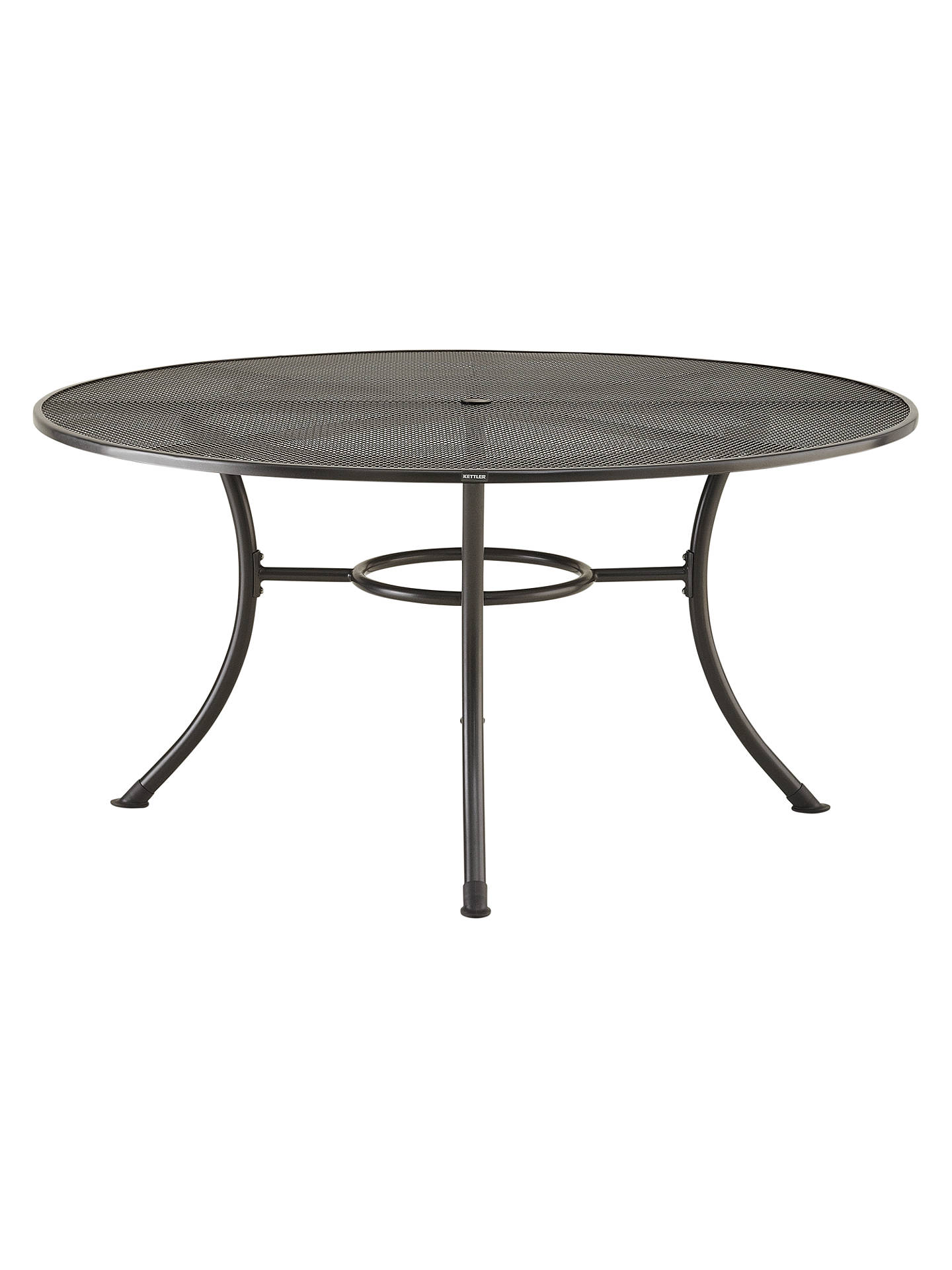 Buyjohn lewis partners henley by kettler round 6 seater garden dining table dia