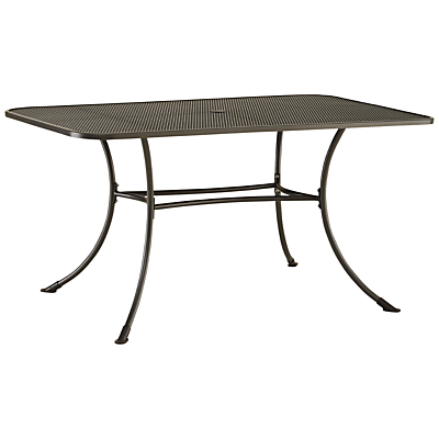 John Lewis Henley by KETTLER 6-Seater Rectangular Outdoor Dining Table