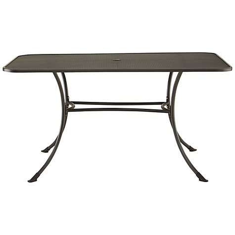 Buy John Lewis Henley by KETTLER 6-Seater Rectangular Outdoor Dining Table Online at johnlewis.com